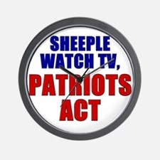 Unique Patriot act Wall Clock