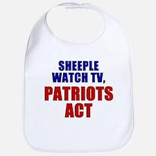 Cute Patriot act Bib
