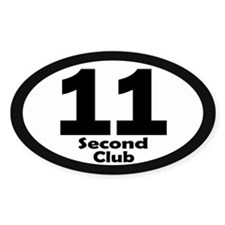 11 Second Club - Decal