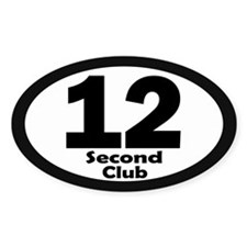 12 Second Club - Decal