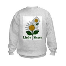 Daisies Little Sister Sweatshirt