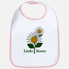 Daisies Little Sister Bib