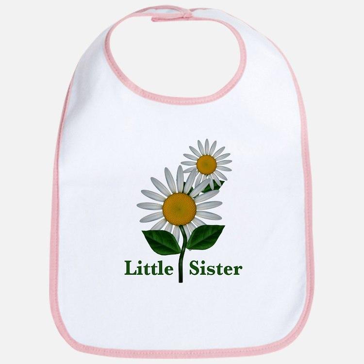 Daisies Little Sister Bib