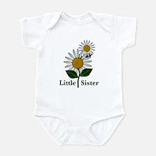 Daisies Little Sister Onesie