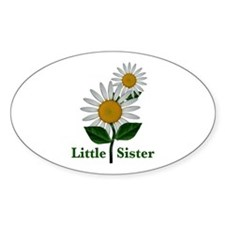 Daisies Little Sister Decal