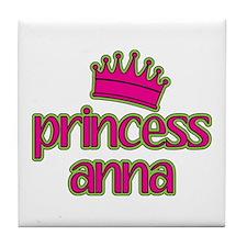 Princess Anna Tile Coaster