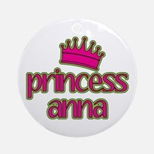 Princess Anna Ornament (Round)