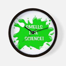 smells like science Wall Clock