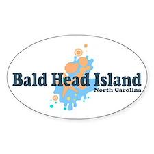 Bald Head Island NC - Seashells Design Decal