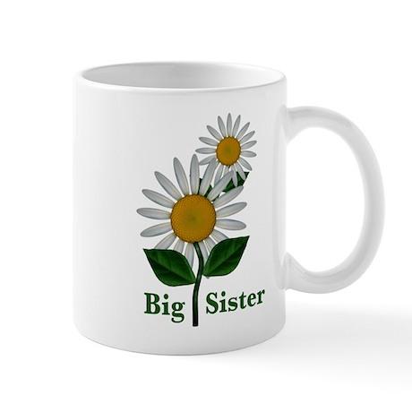 Daisies Big Sister Mug