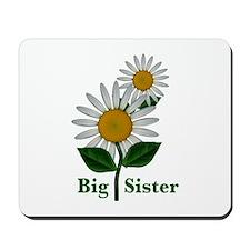 Daisies Big Sister Mousepad