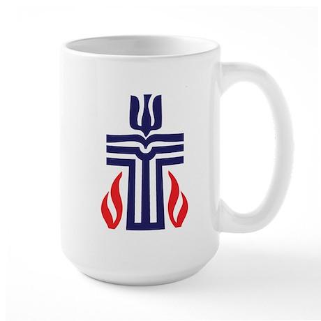 Presbyterian logo Large Mug