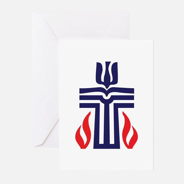 Presbyterian logo Greeting Cards (Pk of 20)