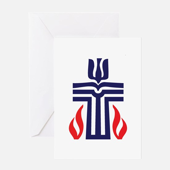 Presbyterian logo Greeting Card