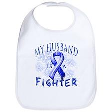 My Husband Is A Fighter Bib