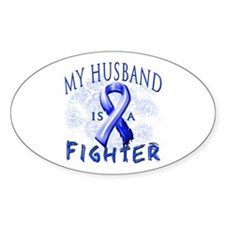 My Husband Is A Fighter Decal