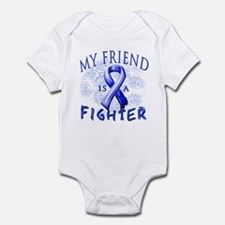 My Friend Is A Fighter Infant Bodysuit