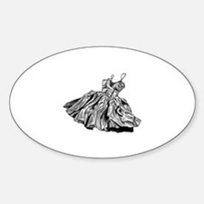 Cute Homecoming Sticker (Oval)