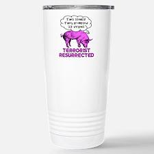 Terrorist Pig Stainless Steel Travel Mug