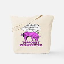 Terrorist Pig Tote Bag