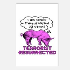 Terrorist Pig Postcards (Package of 8)