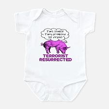 Terrorist Pig Infant Bodysuit