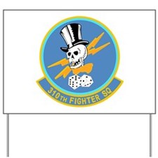 310th Fighter Squadron Yard Sign