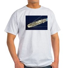 USS Belleau Wood LHA 3 Ash Grey T-Shirt