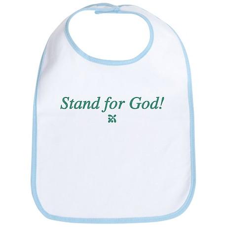 Stand for God Bib