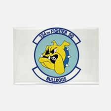 Funny Bulldogs Rectangle Magnet (100 pack)