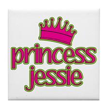 Princess Jessie Tile Coaster