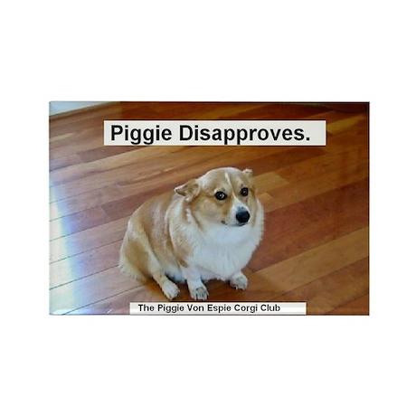 The Piggie Von Espie Magnet of Disapproval