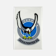 355th Fighter Squadron Rectangle Magnet (10 pack)