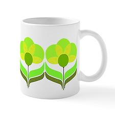 mod blooms (green) Mug