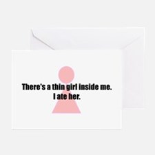 Unique Weight loss humor Greeting Cards (Pk of 10)