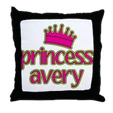 Princess Avery Throw Pillow
