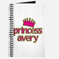 Princess Avery Journal