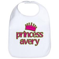 Princess Avery Bib