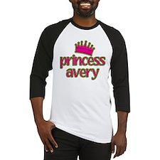 Princess Avery Baseball Jersey