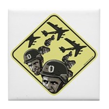 Drop Obama Bombs Tile Coaster
