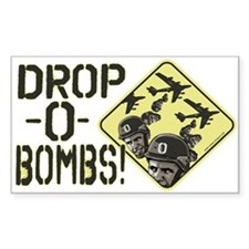 Drop Obama Bombs Decal