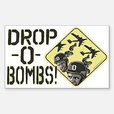 Drop Obama Bombs Decal