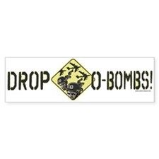 Drop Obama Bombs Bumper Sticker