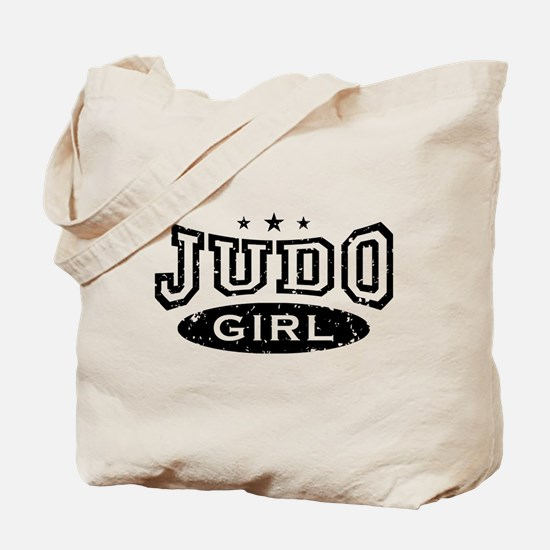 Judo Girl Tote Bag