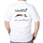 WWGD? What would GROK do? Golf Shirt
