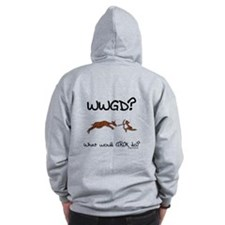 WWGD? What would GROK do? Zip Hoodie