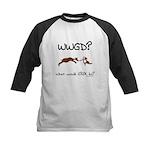 WWGD? What would GROK do? Kids Baseball Jersey