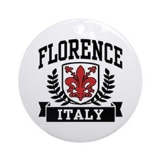Florence Italy Ornament (Round)