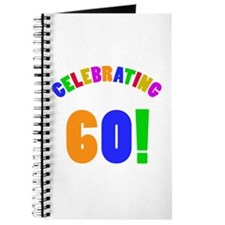 Rainbow 60th Birthday Party Journal