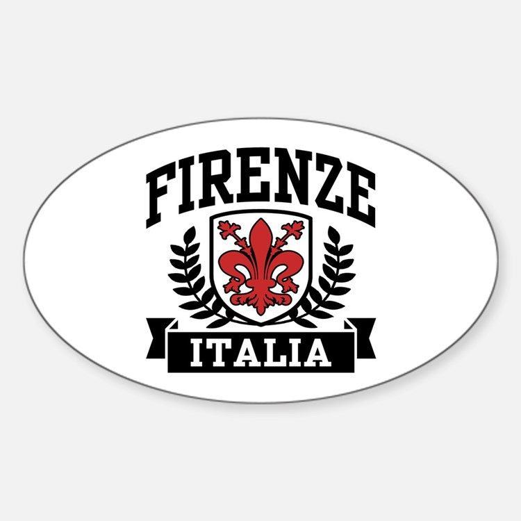 Firenze Italia Sticker (Oval)